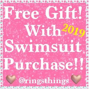 "👙👙FREE GIFT WITH A ""2019"" SWIMSUIT PURCHASE👙👙"